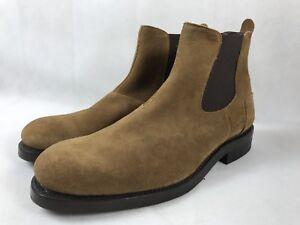 1ed8da61356 Details about NEW!! Wolverine Men Suede Boot Shoes Montague 1000 Mile  Chelsea Brown Size 7
