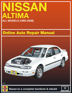 2005 nissan altima haynes online repair manual select access ebay rh ebay com 2004 nissan altima owners manual 2004 nissan altima service manual pdf