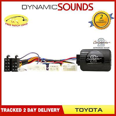 Lexus CTSTY001 Steering Wheel Stalk Control Adaptor Lead For TOYOTA