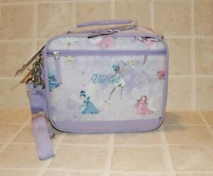 Pottery Barn Kids Cold Pack Lunch Box Personalized Violet