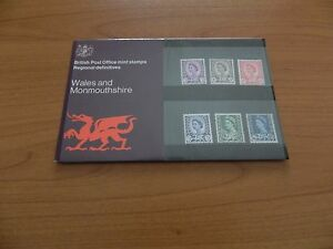 1970 WALES DEFINITIVES 3d to 16 PRESENTATION PACK  No 24  IN MINT CONDITION - CAERNARFON, United Kingdom - 1970 WALES DEFINITIVES 3d to 16 PRESENTATION PACK  No 24  IN MINT CONDITION - CAERNARFON, United Kingdom