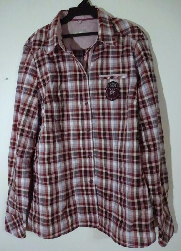 """""""rabe"""" Damen Hemdbluse,gr. 40(fällt Wie Gr. 42 Aus),np: 79,95€, 58% Baumwolle"""