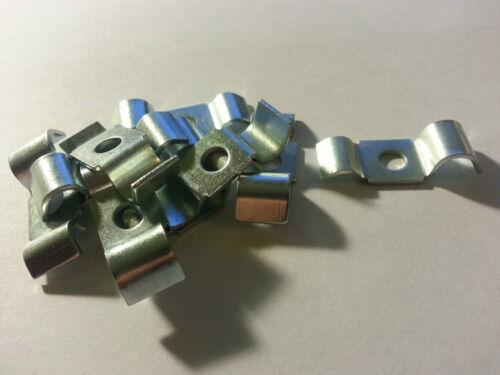 10 X TUBO del freno Clip Morsetti accetta 3//16 /& 5//16 TUBO ogni lato parte 243395
