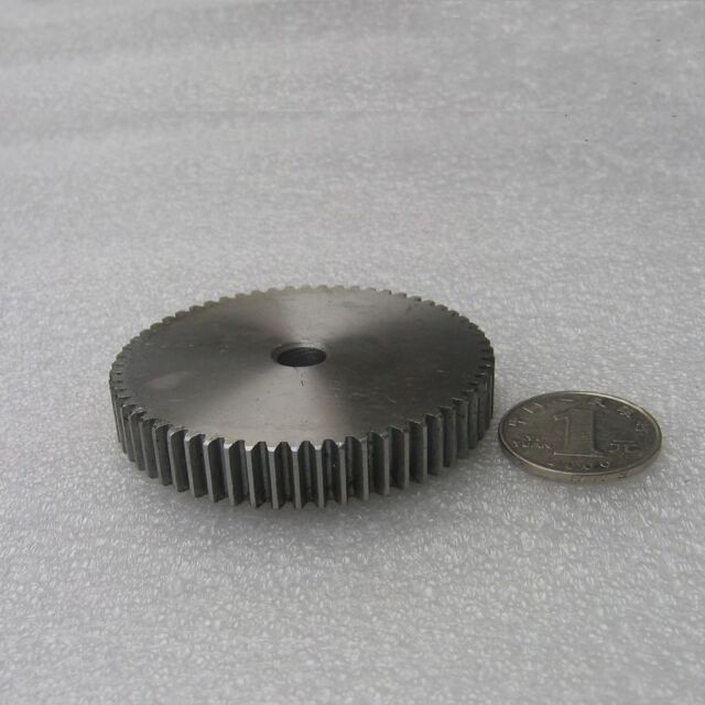 1 Mod 38T Spur Gears #45 Steel Pinion Gear Tooth Diameter 40mm Thickness 10mm