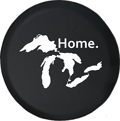Jeep Grill Michigan Great Lakes Detroit Mo Town Edition Spare Tire Cover