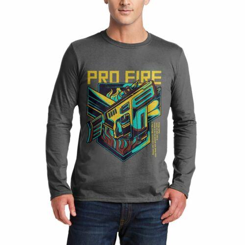 Pro Fire Mens T-Shirt Army V-Neck Tank Top Vest Tshirt D683