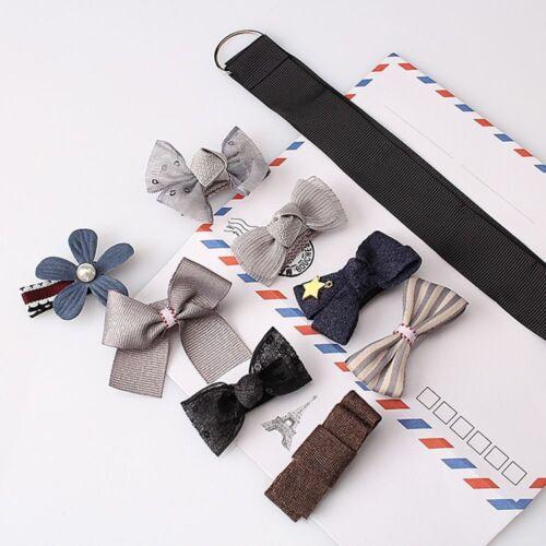 Children Girls Ribbon Bow Cute Hairpin Hair Accessories Barrettes Hair Clips