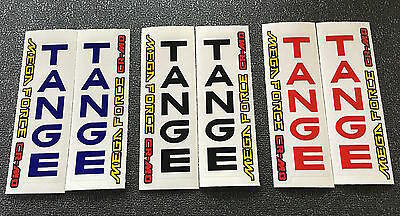 1 paire TANGE TRX Fork decals