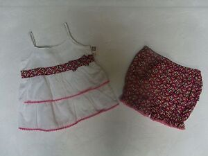 NEW-ROUTE-66-BABY-GIRL-OUTFIT-2-PIECE-SIZES-NEWBORN-0-3-MONTHS-3-6-MONTHS