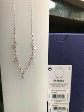 49fa1f8ee 5419242 LOUISON SMALL NECKLACE WHITE RHODIUM PLATING 2018 SWAROVSKI JEWELRY