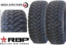 2 Rbp Repulsor Mt 33x1250r18lt 118q 10ply All Terrain Mud Truck Tires Mt