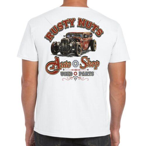 Hotrod 58 Mens Hot Rod T Shirt Rat Garage Vintage Clothing V8 Dad Car Gift 55