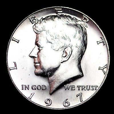 1967 Kennedy 40/% Silver Half Dollar GEM BU FREE SHIPPING!