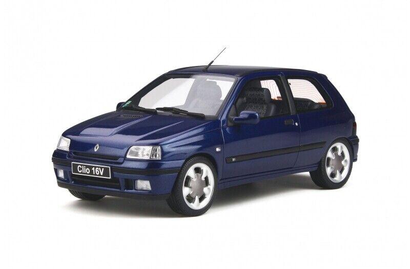venta Renault Clio 1 16v Phase Phase Phase II 1995 azul 1 18 resin Otto Mobile ot744 nuevo & OVP  precios bajos