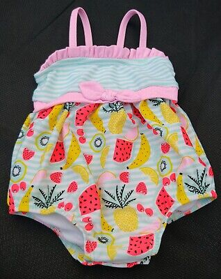 Polo Ralph Lauren Baby Girl Infant Floral 2 Piece Bathing Suit Swimwear 6//9//24Mo