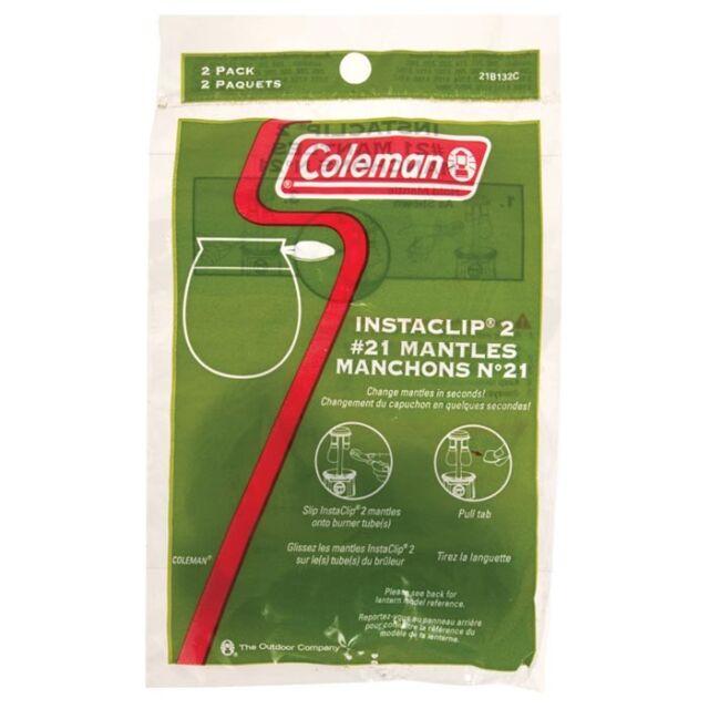 Coleman Insta-Clip  2 #21 Mantles