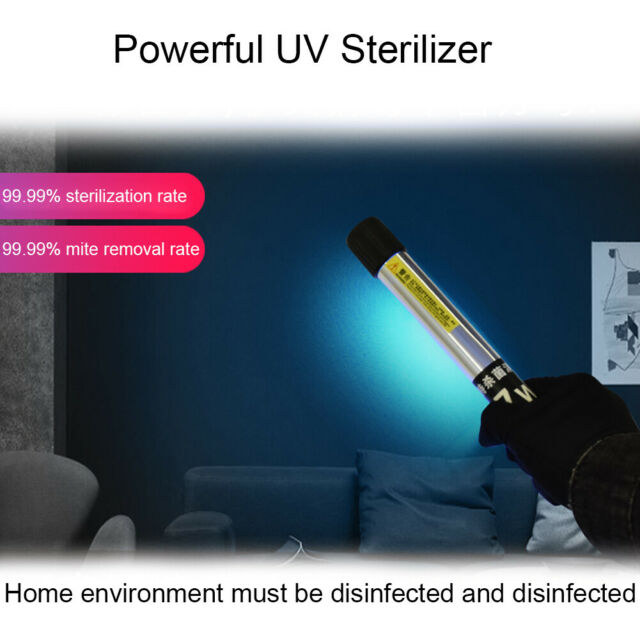 Ultraviolet Germicidal Light UVC Disinfection Sterilizer Kill Dust UV Lamp USB