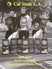 1999-00 CAL STATE LA TRACK & FIELD & CROSS COUNTRY MEDIA GUIDE - MEN'S & WOMENS