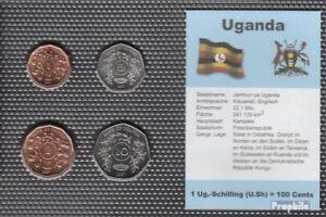 Uganda-1987-Stgl-Unzirkuliert-Coin-1987-1-Shilling-to-10-SHILLINGS