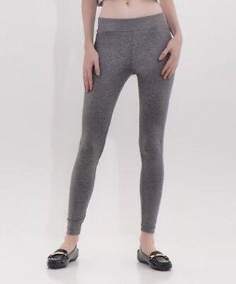 Size 16 Leggings Grey Ladies Womens Cotton Blend