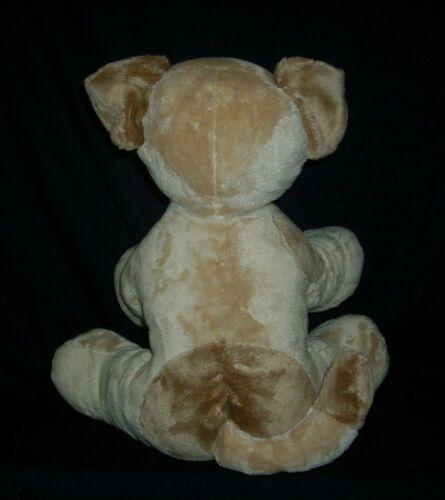 BUILD A BEAR ASTHMA FRIENDLY BROWN TAN PUPPY DOG STUFFED ANIMAL PLUSH TOY SOFT