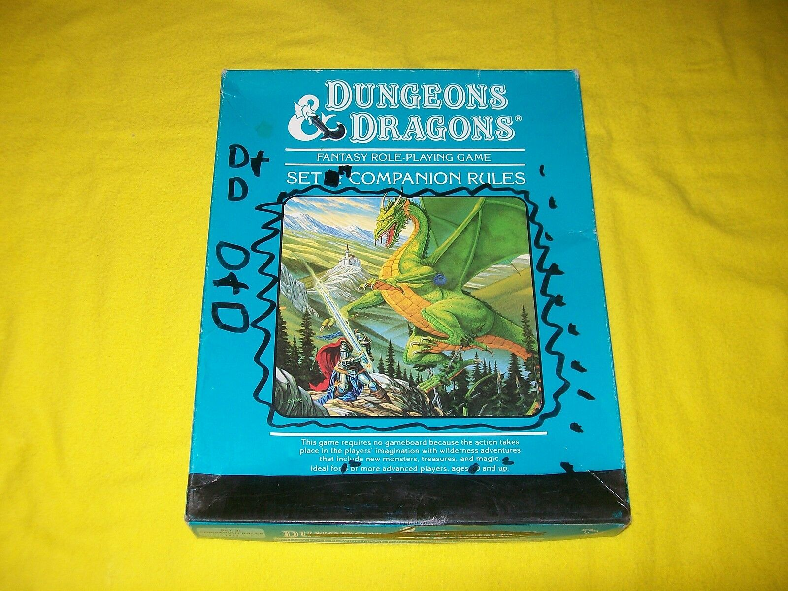 Dungeons & Dragons Set 3 compañero reglas Box Set TSR 1013 - 1
