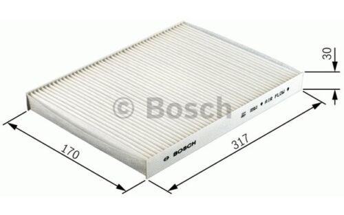 aire habitáculo BMW Serie 5 6 BRILLIANCE 1 987 432 402 BOSCH Filtro