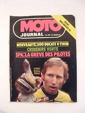 Moto Journal Juillet 1979 N°419 500 Ducati V Twin SPA Kenny Roberts