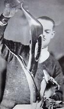 MAURICE LAMBERT SCULPTOR SCULPTURE ART 2pp PHOTO ARTICLE 1932