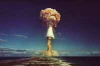Atomic Bomb Test Vintage Wwii Photo Poster Art Print Style A 24x36