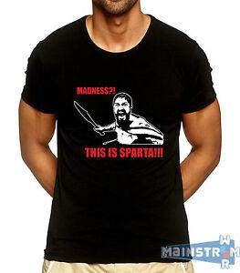Shirt Sparta Is 300Ebay Maglietta Madness This T w8X0kPnO