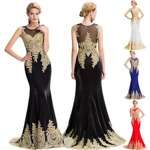 37fa2b6e7 La imagen se está cargando Largo-de-Noche-Formal-Vestidos-Fiesta-Graduacion -Dama-