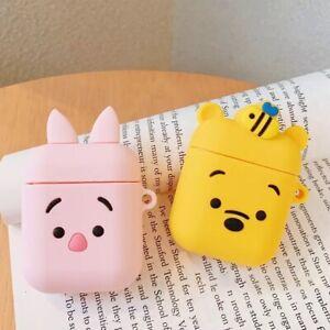 1pcs Cute Cartoon Silicone Airpod Case Winnie The Pooh Piglet Ebay