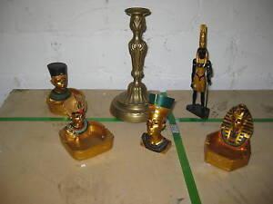 Egitto 6 Pezzi Set Personaggi da collezione Sfinge Mummia Egizi FARAONE