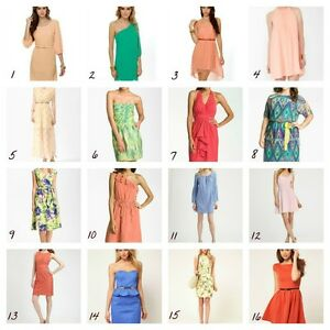 WHOLESALE-LOT-CLOTHING-30-WOMEN-MIXED-DRESSES-SUMMER-TOPS-CLUB-WEAR-M-Medium