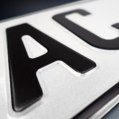 1x Kfz-Kennzeichen490 x 110 mmNummerschildAutoschildDHL-Versand