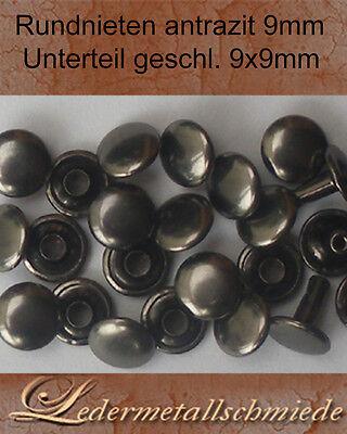 10x Nieten Ziernieten Strassnieten Schmucknieten Metall DIY Rivets