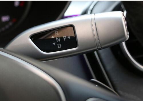 Car Chrome Shift Lever  Cover Cruise Trim For Mercedes Benz CLA GLC C E S class
