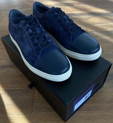 Allen Edmonds COOPER Navy Suede Sneaker