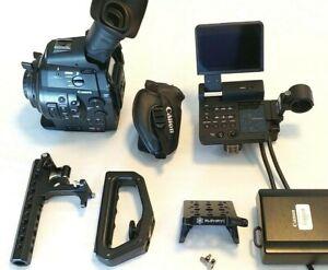 Canon-EOS-C300-Cinema-Super-35mm-HD-Camcorder-Body-w-PL-Lens-Mount-1439-Hrs