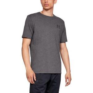 Under-Armour-Herren-UA-Sportstyle-Linke-Brust-Kurzarm-Shirt-T-Shirt-1326799