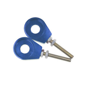 12mm-Chain-Tensioner-Adjusters-Fit-110cc-125cc-Dirt-Pit-Bike-ATV-Scooter-Blue