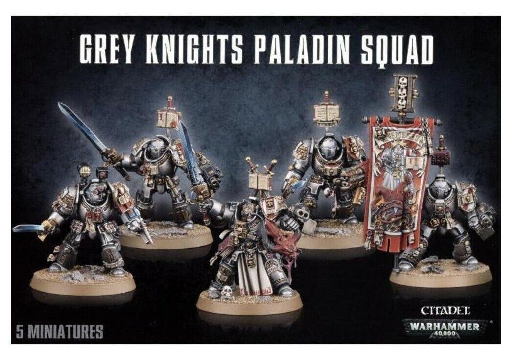 Warhammer  Grey Knights Paladin Squad -57-09-