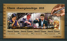 Sierra Leone 2015 MNH Chess Championships 2015 4v M/S Sergey Karjakin Hou Yifan