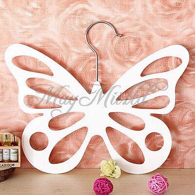 Butterfly Scarf Shawl Hanger Necktie Belt Closet Storage Holder Hook Organizer G