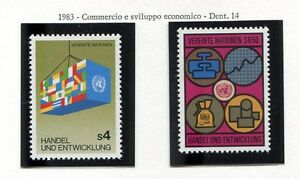 19329-UNITED-NATIONS-Vienna-1983-MNH-Commerce-amp-Trade