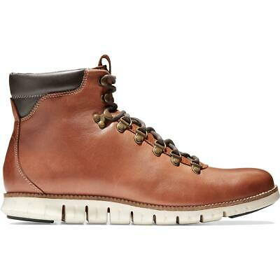 Cole Haan Mens ZeroGrand Leather Lace-Up Ankle Hiking Boots Shoes BHFO 4543