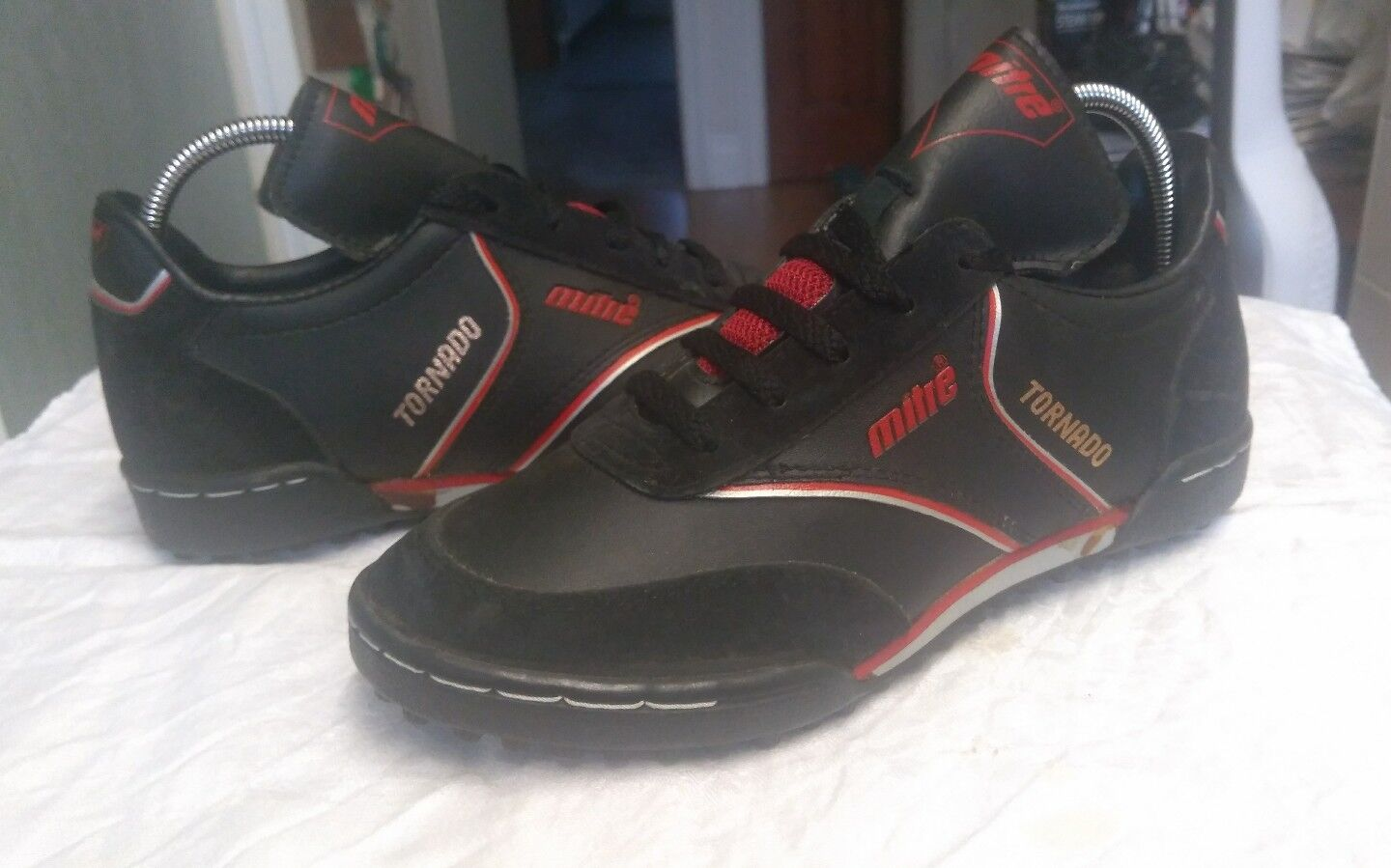Vintage Mitre Tornado Astro Turf Trainers UK Size 5 Deadstock - Rare - 1980's