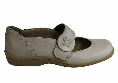 ShopShoesAU Flex /& Go Alexa Womens Comfort Flat Leather Shoes Made In Portugal