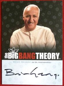 THE-BIG-BANG-THEORY-BRIAN-GEORGE-Seasons-3-and-4-AUTOGRAPH-CARD-A14